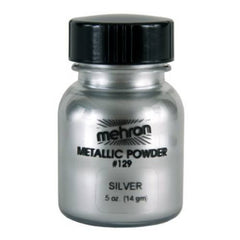 Mehron Metallic Silver Powder  (14 gm)