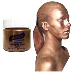 Graftobian Metallic Copper Cosmetic Powdered Metal (1 oz)
