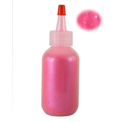 Amerikan Body Art Holographic Bubblegum Pink Sheer Glitter