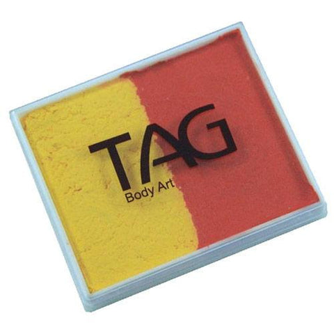 TAG Orange and Yellow 2 Color Cake (50 gm)