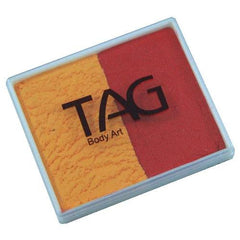 TAG Golden Orange and Red 2 Color Cake (50 gm)