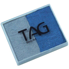 TAG Pearl Blue and Pearl Silver 2 Color Cake (50 gm)