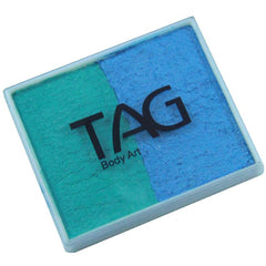 TAG Pearl Teal and Sky Blue 2 Color Cake (50 gm)