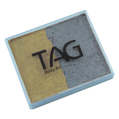 TAG Pearl Silver and Pearl Gold Split Cake (50 gm)