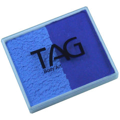 TAG Powder Blue and Royal Blue 2 Color Cake (50 gm)
