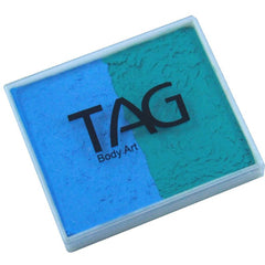 TAG Teal and Light Blue 2 Color Cake (50 gm)