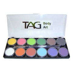 TAG 12 Color Regular Face Paint Palette (10 gm)