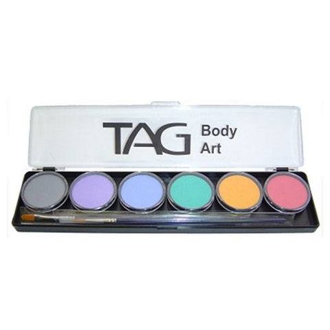 TAG 6 Color Pastel Face Paint Palette (10 gm)