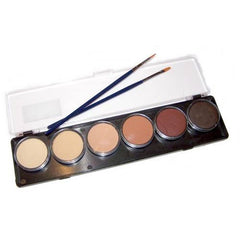 TAG 6 Color Skin Tone Face Paint Palette (10 gm)