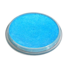 Kryvaline Metallic Baby Blue Face Paint km15 (30 gm)