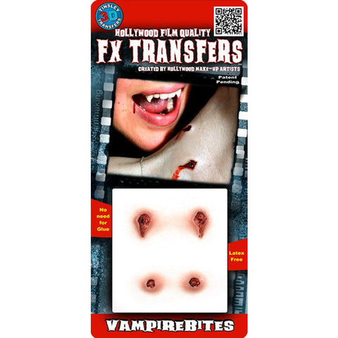 Tinsley Vampire Bites Small 3D FX Transfer