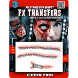 Tinsley Zipper Face Medium 3D FX Transfer
