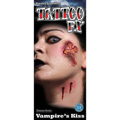 Tinsley Transfers Vampire Kiss Gorywood Temporary Tattoo