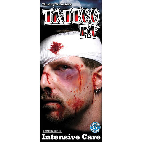 Tinsley Transfers Intensive Care Gorywood Temporary Tattoo