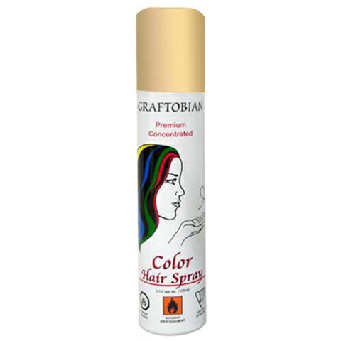 Graftobian Gold Color Hair Spray  (5 oz)