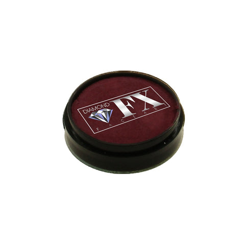 Diamond FX Bordeaux Red Face Paint 35