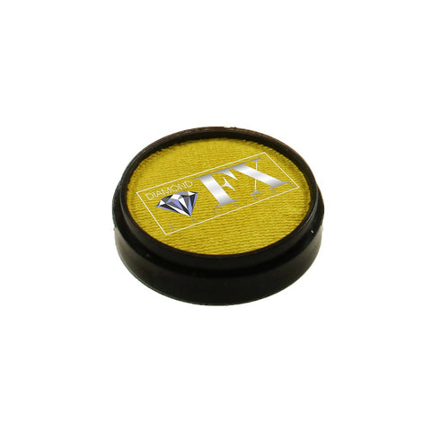 Diamond FX Metallic Yellow Face Paint M50