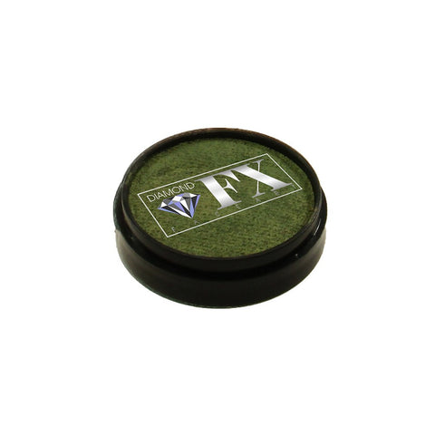 Diamond FX Metallic Bronze Face Paint M165