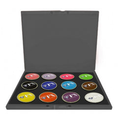 Diamond FX 12 Color Build Your Own Face Paint Palette (32 gm)