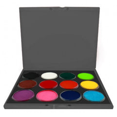 Kryvaline 12 Color Build Your Own Face Paint Palette (30 gm)
