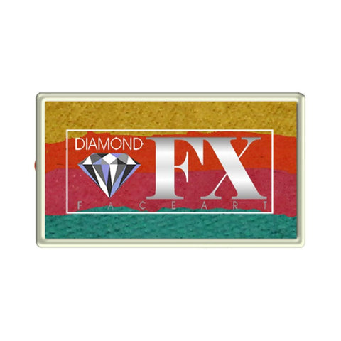 Diamond FX Caribbean Sunset Custom 1-Stroke Split Cake (28 gm)