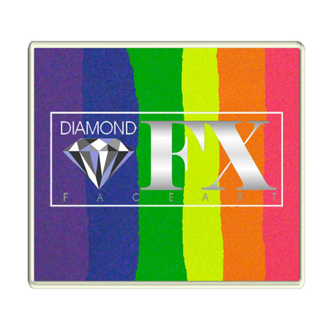 Diamond FX Large Neon Nights Split Cake (50 gm)