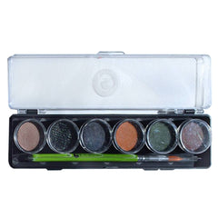 Cameleon 6 Color Scare Me Mini Face Paint Palette (8 gm each)