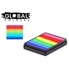 Global Bright Rainbow Rainbow Split Cake (50 gm)