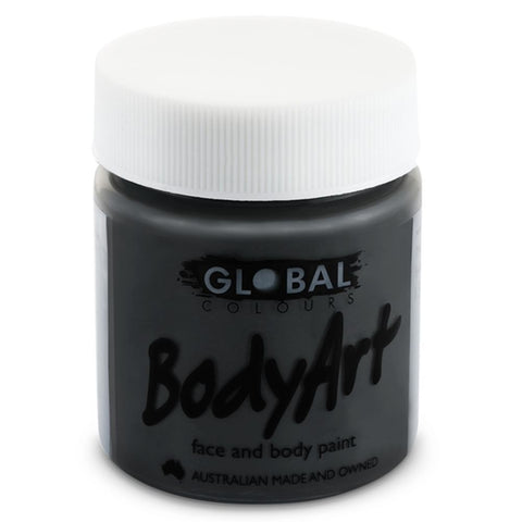 Global Liquid Face Paint - Black (45 ml)
