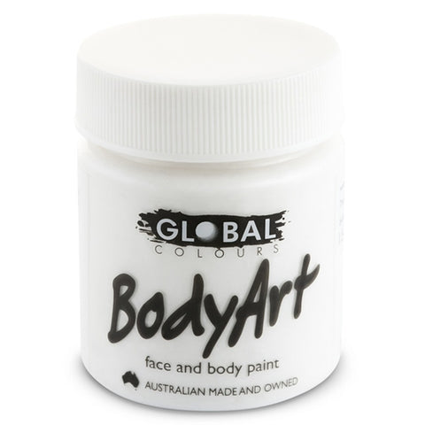 Global Liquid Face Paint - White (45 ml)