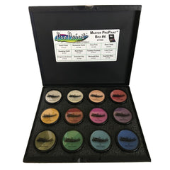 Graftobian ProPaint 12 Color Metallic Master Palette #4