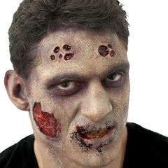 Woochie Zombie Male Deluxe FX Makeup Kit