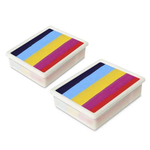 Global Leanne's Rainbow Fun Stroke Palette Refill (Set of 2)