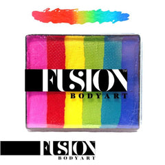 Fusion Body Art Bright Rainbow Rainbow Split Cake (50 gm)