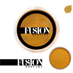 Fusion Body Art Pearl Metallic Gold Face Paint (32 gm)