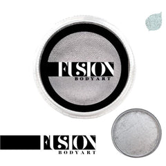 Fusion Body Art Pearl Metallic Silver Face Paint (32 gm)