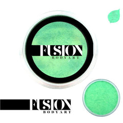 Fusion Body Art Pearl Mint Green Face Paint (25 gm)