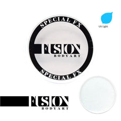 Fusion Body Art UV Neon White Clear FX (32 gm)
