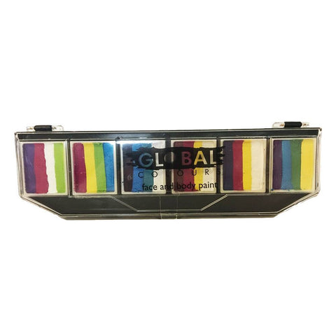 Global 6 Color Fun Stroke Palette - Colour Punch (10 gm)