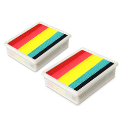 Global Leanne's Rainbow Neon Fun Stroke Palette Refill (Set of 2)