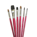 Silly Farm Paint Pal 6-Piece Variety Brush Collection