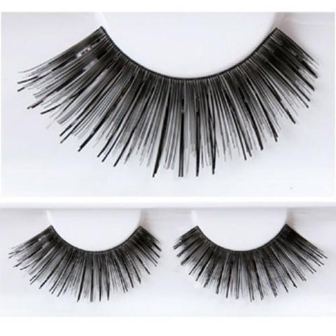 Kryolan Black & Black Eyelashes