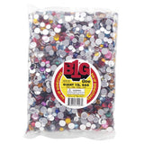 Acrylic Rhinestone Blings - Round, Assorted (8 - 11mm, 1 lb/pack)
