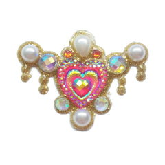 Cupid's Heart Bling Cluster