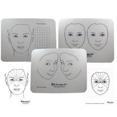 Design It Face Painting Practice Board Kit (3 Boards)