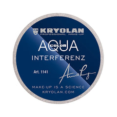 Kryolan Aquacolor Interferenz Silver G (30 ml)