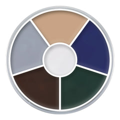 Kryolan 6 Color Zombie Wheel (30 gm)