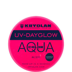 Kryolan Aquacolor UV-Dayglow - Cosmetic Magenta (8 ml)