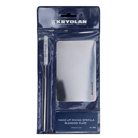 Kryolan Mixing Spatula & Plating Set