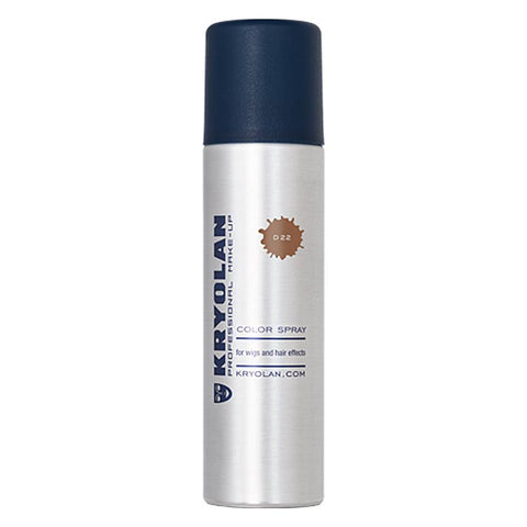 Kryolan Copper Glitter Color Hair Spray